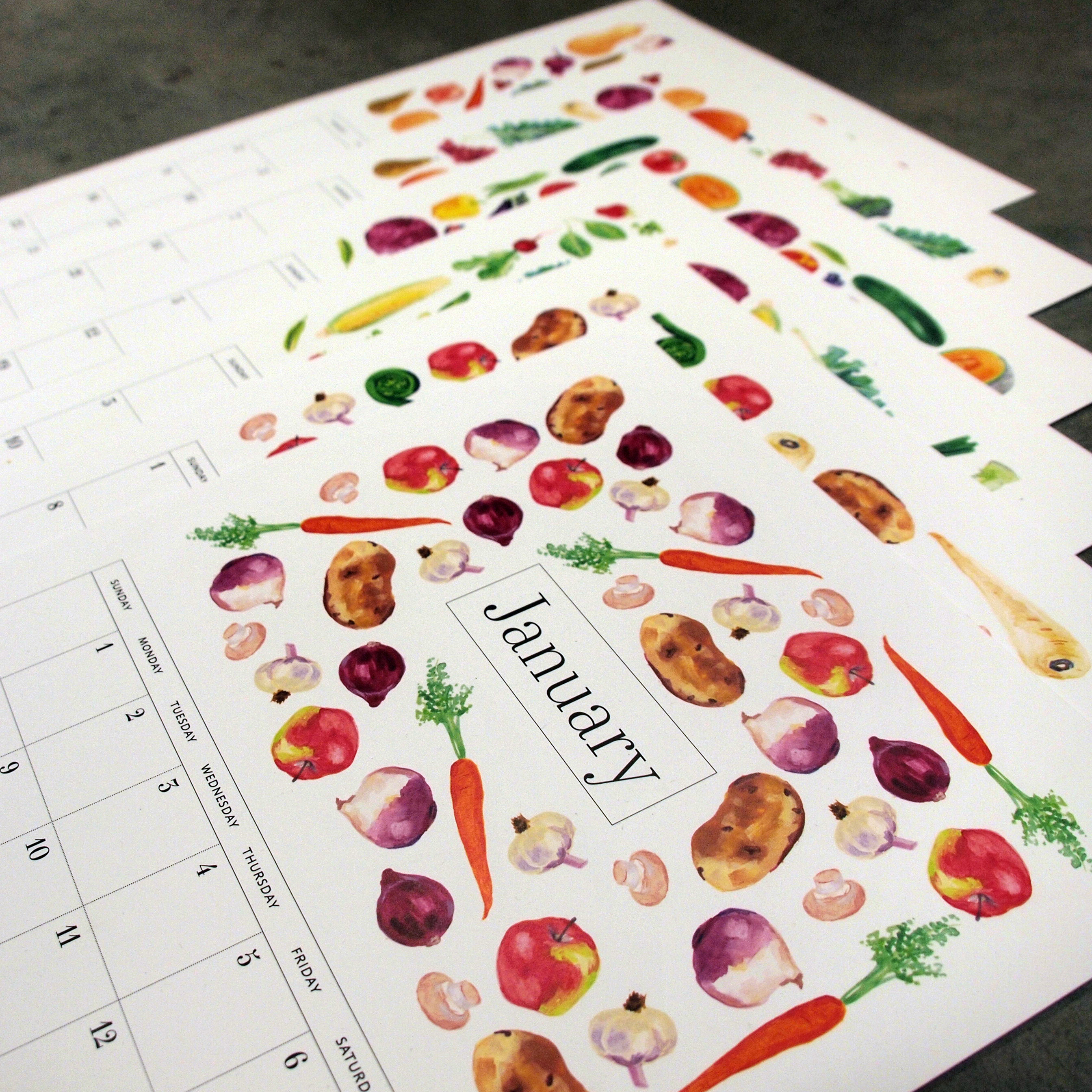 Vegetable Calendar thumbnail image